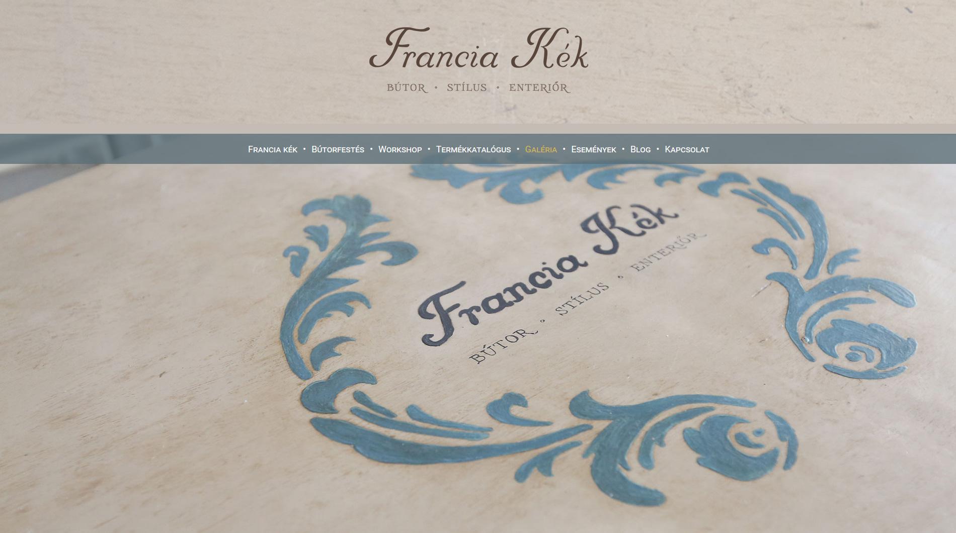 francia kék
